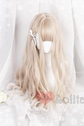 Free Shipping Lolita Kawaii Long And Short Curly Wigs Daily Wigs LK17081501